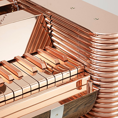 "Copper Dog Piano - ""Mans best friend"""
