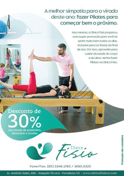 Verifique a nova promoção de pilates na Clínica Fisio em Fotaleza