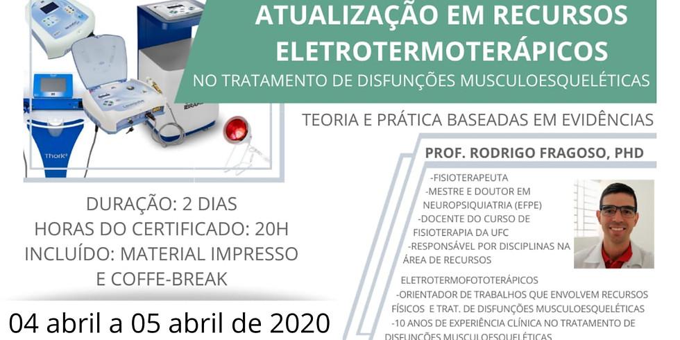 Curso de Atualizaçao em Eletroterapia Clínica - 2 Turma
