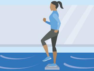 Cinco exercícios para melhorar a consciência postural de corredores