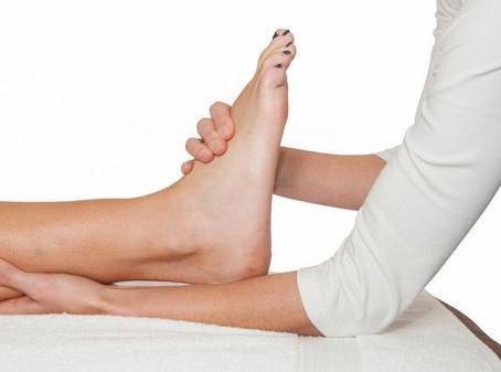 Fisioterapia para pé e tornozelo