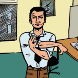 alongamento de braço