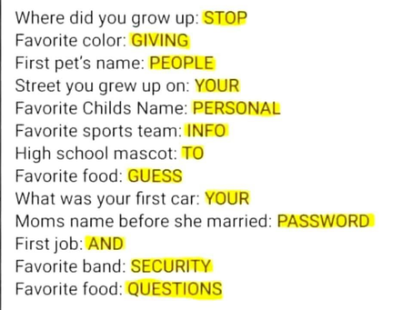 """That """"fun"""" quiz is stealing your identity"""
