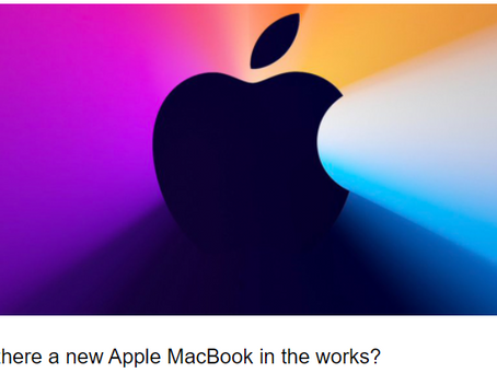 When isn't there a new <insert Apple device> coming?