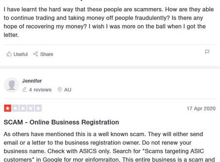 ALERT: Active scam in Kingborough & Huon regions