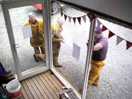 Fire emergency over - business as usual