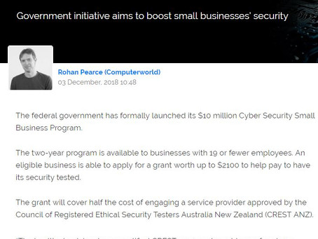 Government to help pay for IT security tests for small businesses