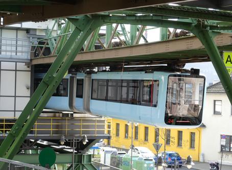 Wuppertal Schwebebahn - a train nerds dream