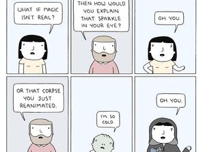 Magic doesn't happen