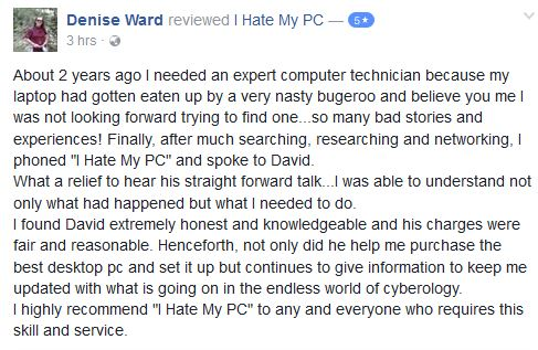 Denise Ward Facebook 140717
