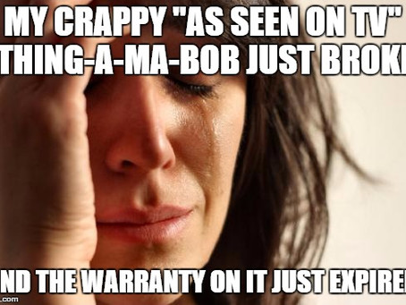 Caught out by extended warranty