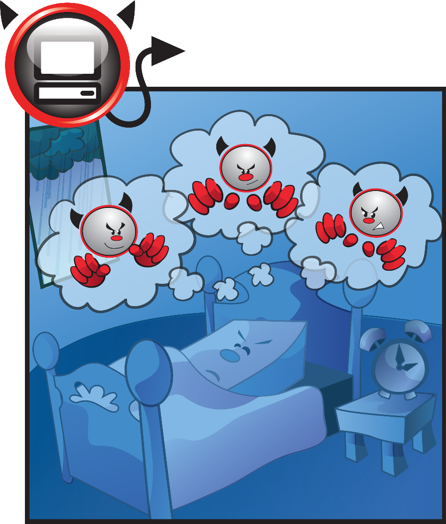 Bad dreams for naughty PCs