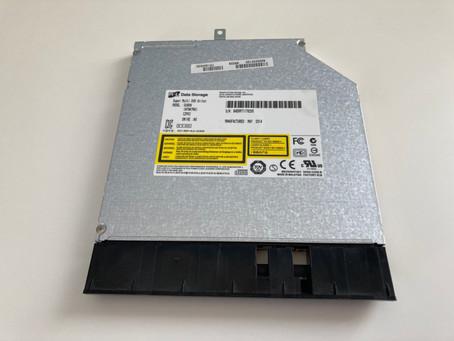 A frugal external DVD drive