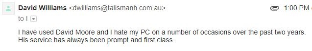 David William Email 130717