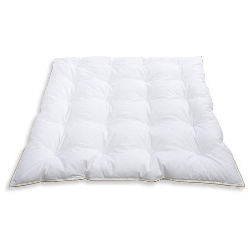 Frau Holle Baby-Bettdecke mit weichen Gänsedaunen