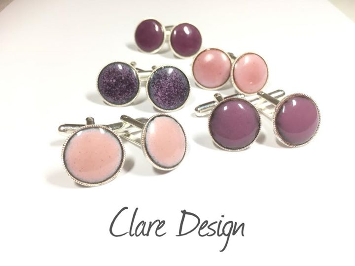 Clare Design cufflinks