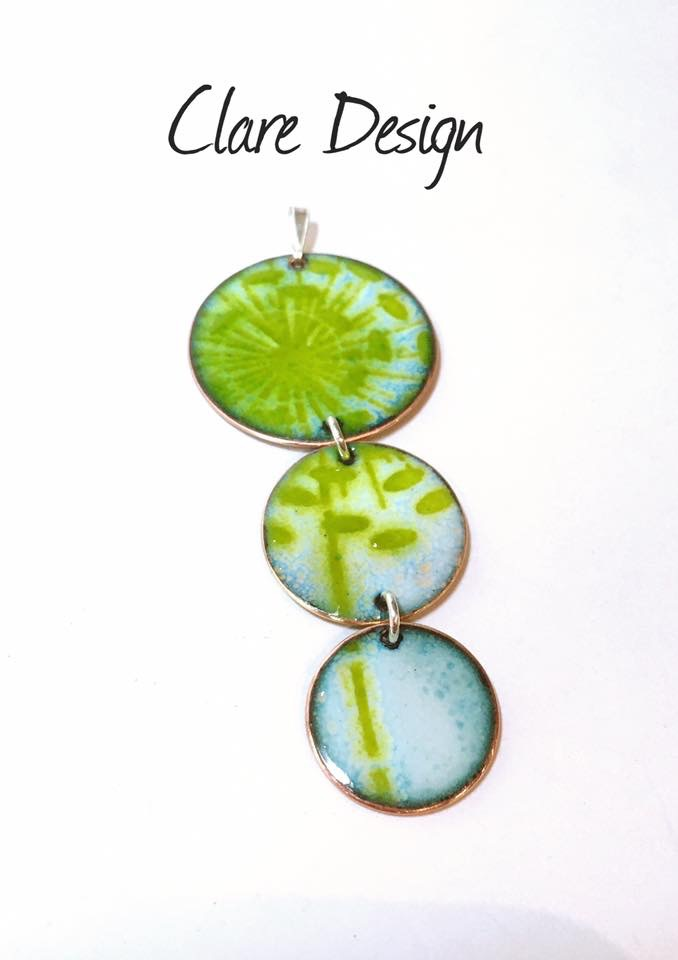 Clare design Allium necklace