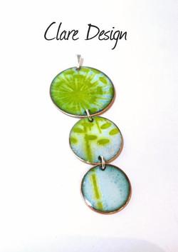 Clare design Allium necklace