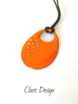 Clare Design Orange