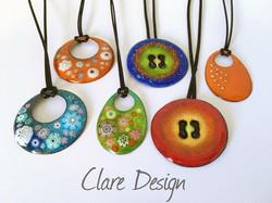 Clare Design Pendants