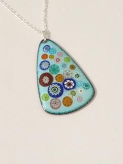 Clare design flower meadow pendants