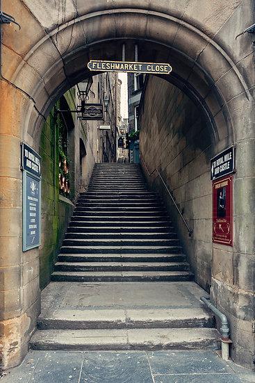 Edinburgh Lockdown #9 by Marek Pieta