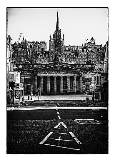 Edinburgh Lockdown #11 by Marek Pieta