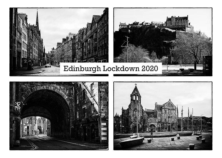 Edinburgh Lockdown #14 by Marek Pieta