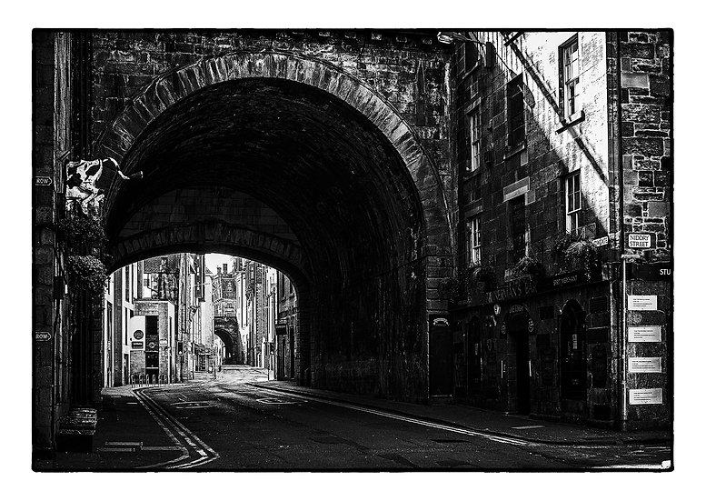 Edinburgh Lockdown #8 by Marek Pieta