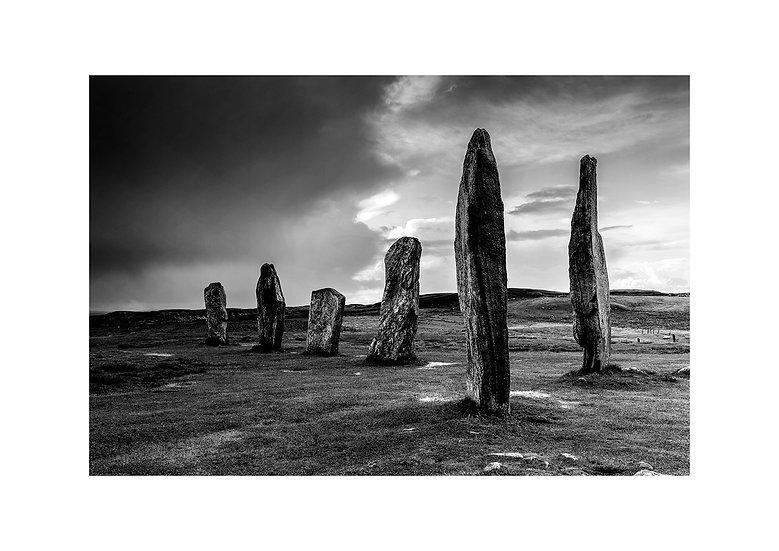 Hebrides (Callanish Standing Stones) by Marek Pieta