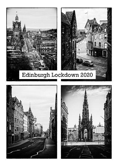 Edinburgh Lockdown #13 by Marek Pieta