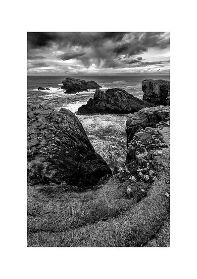Hebrides (Butt of Lewis)#1 by Marek Pieta