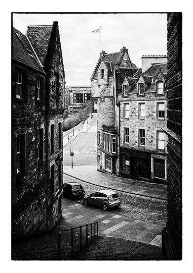 Edinburgh Lockdown #5 by Marek Pieta
