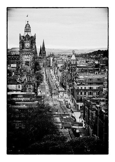 Edinburgh Lockdown #1 by Marek Pieta