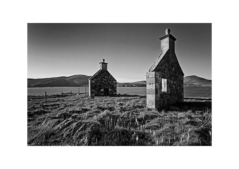 Hebrides (Taigh Sanna, Vatersay Isle of Barra ) by Marek Pieta