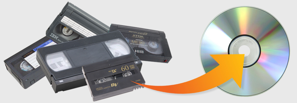 VHS to DVD Service