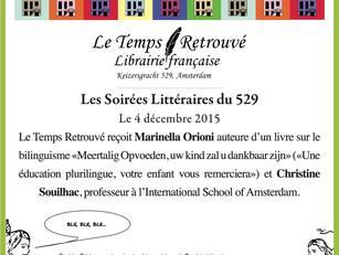 Les soirées littéraires du 529