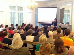 Conférence au Nouveau Centre Néerlandais, Paris