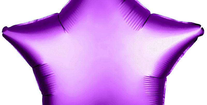 Звезда 46 см Фиолетовая