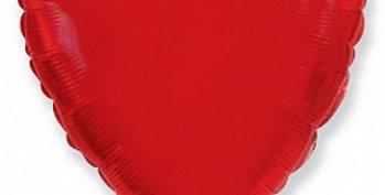 Сердце 46 см Красное