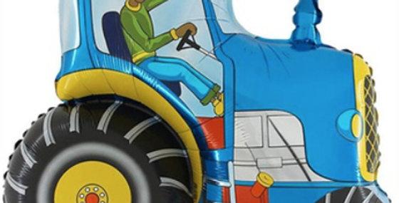 Шар Фигура Синий Трактор