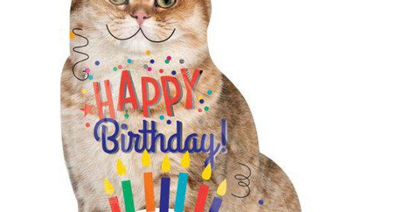Кот Happy birthday 104 см