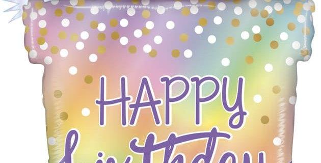 Шар Фигура Подарок на День Рождения Голография