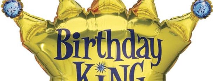 Шар Фигура Корона, День Рождения Короля