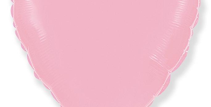 Сердце 46 см Розовое