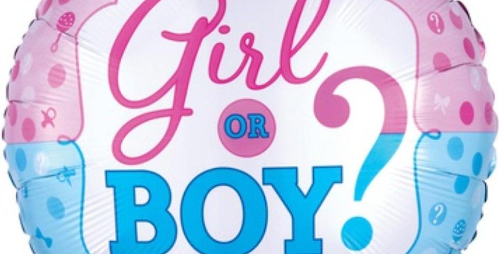 Шар Круг Girl or Boy