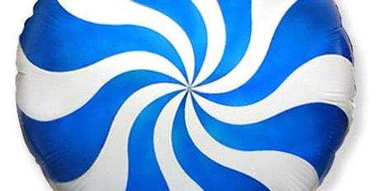 Шар Конфетка Синяя