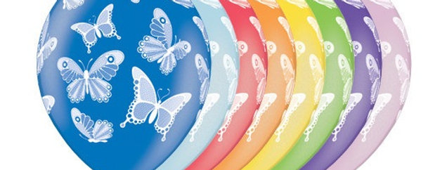 Шар Шелкография Бабочки
