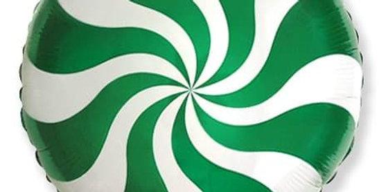 Шар Конфетка Зеленая