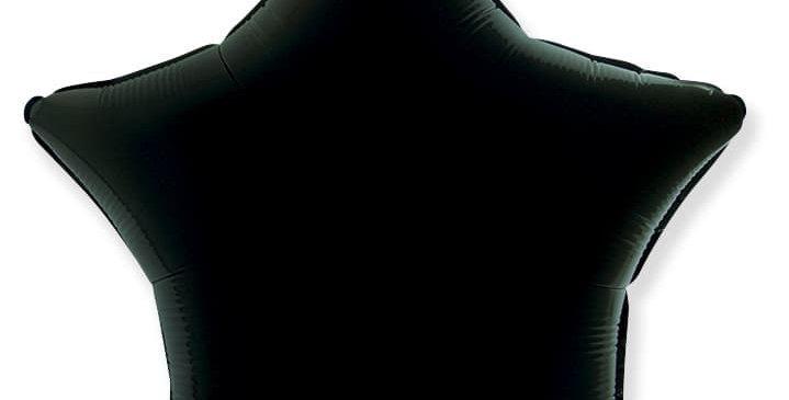 Звезда 46 см Черная